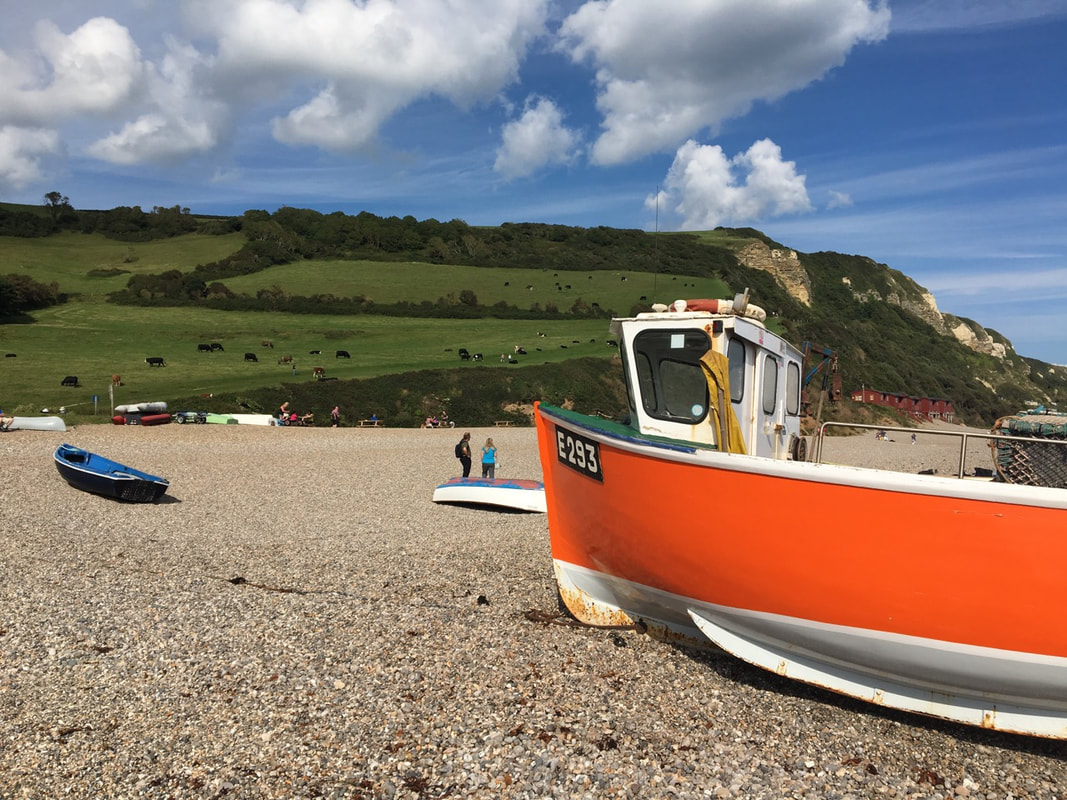 Branscombe beach Devon